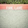 Foto Stock: Fire Lane