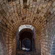 Stock Photo: Tunnel in the Great Wall of China