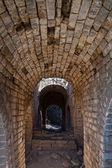 Tunnel in the Great Wall of China — Stock Photo