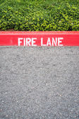 Fire Lane — Stock Photo