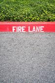 Fire Lane — Stock Photo