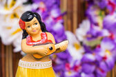 Hula Girl Doll — Stock Photo