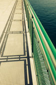 Ferry Boat Deck — Stock Photo