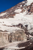 Icy Mount Rainier — Stock Photo