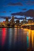 Portland Oregon at Night — Stock Photo