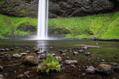 Base of South Falls in Oregon's Willamette Valley — Stock Photo