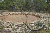 Tusayan Ruins Kiva Grand Canyon — Zdjęcie stockowe