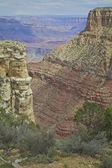 Vista panoramica del grand canyon — Foto Stock