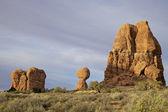 Dengeli kaya, kemerler n.p. — Stok fotoğraf