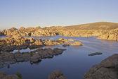 Watson jezioro prescott arizona — Zdjęcie stockowe