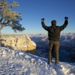 Stock Photo: Grand Canyon Winter Wonder