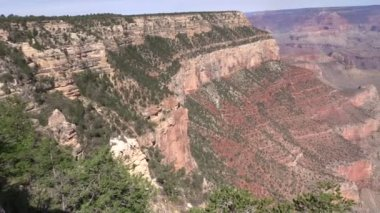 Grand canyon south rim — Wideo stockowe