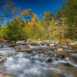Oak Creek in Fall — Stock Photo