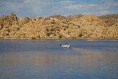 ワトソン湖プレスコットのアリゾナ州のカヤック — ストック写真