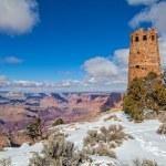 Desert View Watchtower Grand Canyon — Stock Photo #51528479