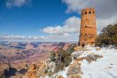 Desert View Watchtower Grand Canyon — Stock Photo