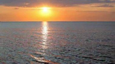 減少の海風景 — ストックビデオ