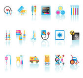 Medical Icons Set — Vettoriale Stock
