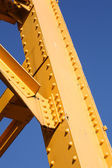 Yellow Girder — Stock Photo