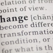 Change — Stock Photo #26149203