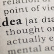 Stock Photo: Idea