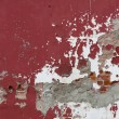 Stock Photo: Weathered Red Wall