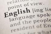 Angielski — Zdjęcie stockowe