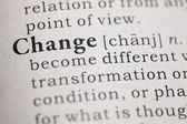 Change — Stock Photo