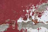 Weathered Red Wall — Stock Photo