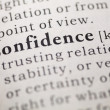 Confidence — Stock Photo