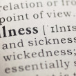 Illness — Stock Photo