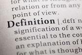 Definition — Stock Photo