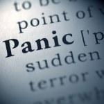Panic — Stock Photo #27409089