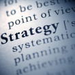 Strategy — Stock Photo #27409593