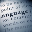 Language — Stock Photo #27409647