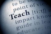 Teach — Stock Photo