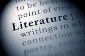 Literature — Stock Photo