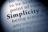 Einfachheit — Stockfoto