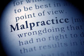 Malpractice — Stock Photo