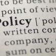 Policy — Stock fotografie