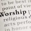 Stock Photo: Worship