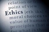 Ethics — Stock Photo