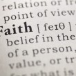 Stock Photo: Faith