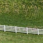 White Fence — Stock Photo