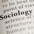 Stock Photo: Sociology