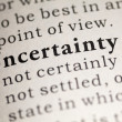 Stock Photo: Uncertainty