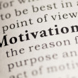Stock Photo: Motivation