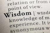 Wisdom — Stock Photo