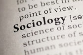 Sociology — Stock Photo