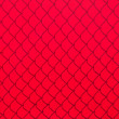 Stock Photo: Red Chainlink Fence Shadow